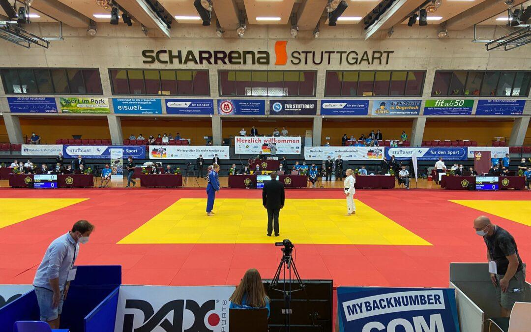 Platz 5 für Yvonne bei der DEM in Stuttgart
