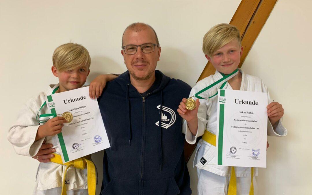 Judo U11 Kreismeister